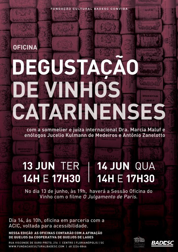 2 - Convite Degustacao de Vinhos Catarinenses